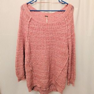 Boho Free People Knit Sweater